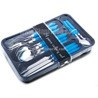 Stainless Steel Plastic Handle Cutlery