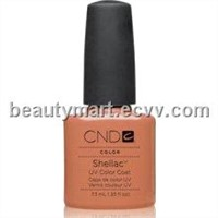 Original CND Shellac UV Color Coat - Gel Nail Polish - Cocoa