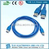 High Speed Usb 3.0 cable extension cable