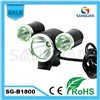 Sanguan 1800lm Powerful Waterproof Bicycle LED Light
