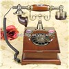 antique wooden rotary telephone,CY-525BZ