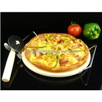 "Ceramic Tableware 13"" Pizza Stone"