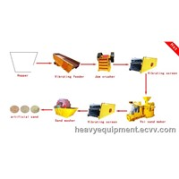Complete Sand Product Line / Sand Production Plant / Lime Sand Brick Making Machine