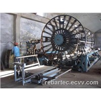 Concrete pipe cage machine