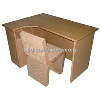 Envirnmental Cardboard Book Desk B&C-F002