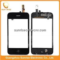 Factory price for iphone 3gs touch screen digitizer with frame
