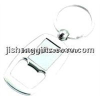 Fashion Metal Bottle Opener Keychain