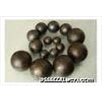 Forging steel grinding ball