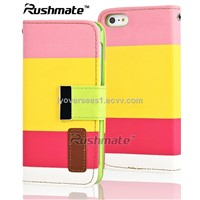 Green Based Three-Layer Colour Mobile Phone Accessories For iphone 5g Case Cover in GuangZhou