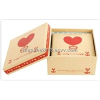 High quality kraft packaging gift box