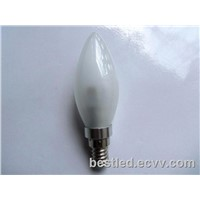 LED Candle Bulb Light Milky cover 3W