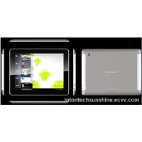 "Quad core chipset metal housing 9.7"" tablet pc/mid/pda1024x768 HD-7141"