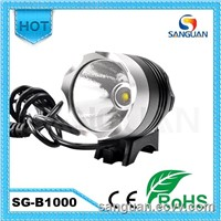 Sanguan 1000 lumens Waterproof Outdoor Cree T6 Bicycle Light / Head Lamp / Helmet Light