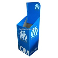 Sporting Goods Cardboard Display Box / Paper Dumpbin