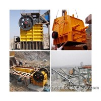 Stone Crushing Production Line Cutting of Rocks