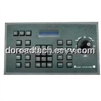 Surveillance Keyboard/PTZ Controller Keyboard for Intelligent System LCD Display with 2D Rocker