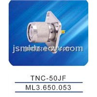 TNC male connector with flange,TNC-50JF
