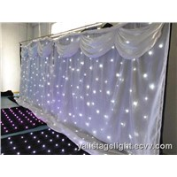 Wedding Decoration Backdroups LED Curtain Lighting Design