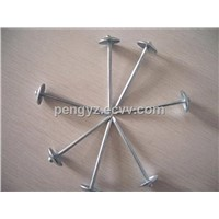 0.120'' Galvanized roofing nails