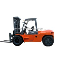 10 ton forklift use in steel factory