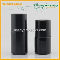 10ml/12ml black nail polish glass bottle