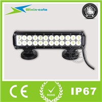 "12"" 72W double rows LED work light bar for ATV SUV 5700 Lumen WI9022-72"