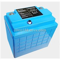 12.8V40A LiFePO4 battery for medical equipment (UL, UN, CB approved)