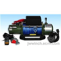 13000lbs synthetic rope winches