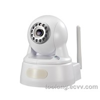 1.0 Megapixel CMOS 720P CCTV IP Camera for Household TL-01W-720P