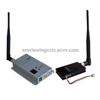 1.2G 1500mW 8 Ch Wireless Audio Video AV Transmitter Receiver