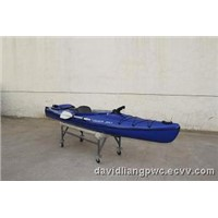 2013 Latest Jet Canoe Installed CF300 4Stroke Engine-Ideal Fishing Boat