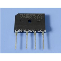 20A/25A/30A 100-1000V GBJ series bridge rectifier,suitable for switching power supply