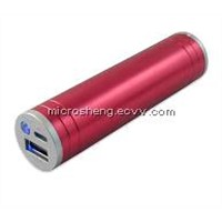 2200mah Lipstick Power Bank for Iphone5