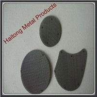 2-7 layer spot weld stainless steel filter disc