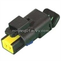 2 way automotive FCI waterproof connector DJ7027A-1.5-21
