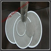 304 316 304L 316L ss wire mesh filter disc