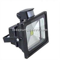 30W LED Flood Lights with PIR Motion Sensor