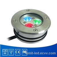 3w IP68 Stainless Steel LED Pool Light