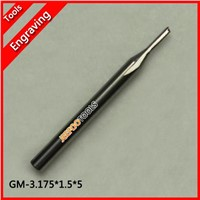 3.175*1.5*5 Carbide Two/Double Flute Straight Router Bits CNC Carving Engraving Knife Tools