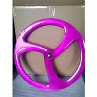 3 Spoke Carbon Wheel Spray paint