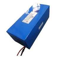 48V 24ah Polymer LiFePO4 E-Bike Battery Pack with PCM (LFP65120125-16S3P, 1152Wh)