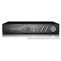 4ch CCTV DVR Recorder Full D1  Playback with HDMI and  P2P Easy Remote View