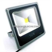 50W IP66 Thin LED Outdoor Floodlights Waterproof