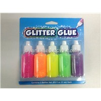 5ct  neon sparkle glitter glue