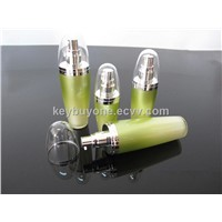 60ml 80ml 120ml Ball shape acrylic lotion bottles with pump