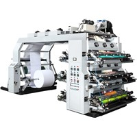 6 Colour High Speed Flexographic Printing Machine (HYT-Series)