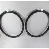 700C*50mm Carbon Wheels With Alloy Braking Surface Clinche