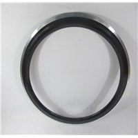 700C*60mm Carbon Wheels With Alloy Braking Surface Clinche