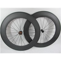 700C*88mm Clincher Road Bike Carbon Wheelset