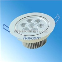 7W 6300LM Suspended Led Ceiling Light Fixture, Led Home Lighting With Beam Angle 60 degree